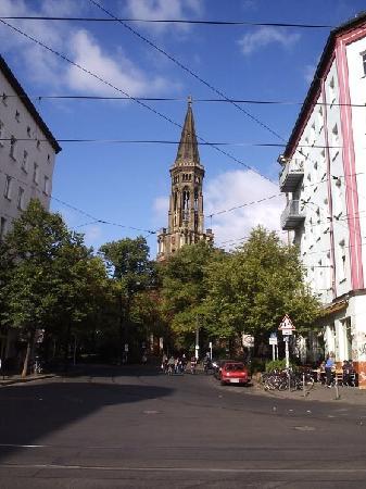 Zinskirche en Prenzlauer Berg