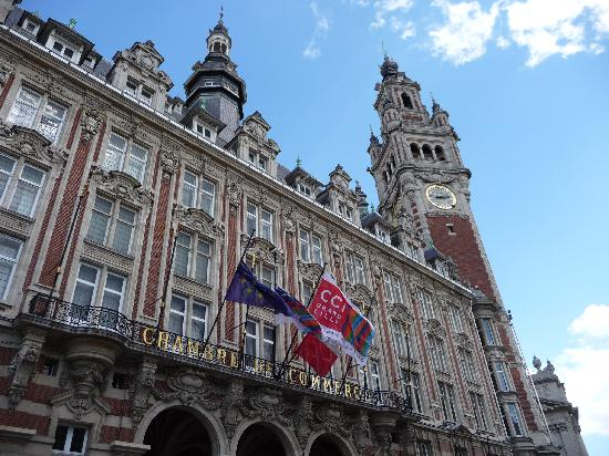 Hotel balladins Lille: nice old buildings in Lille