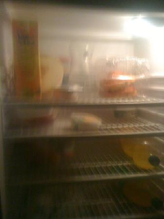 Low Cost Inn Faro: smelly fridge!