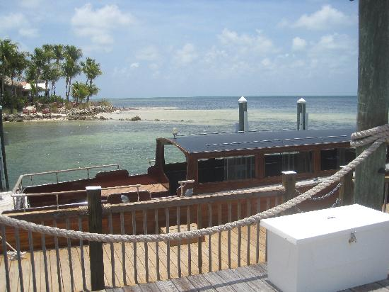 more views little palm key island - picture of the dining room at