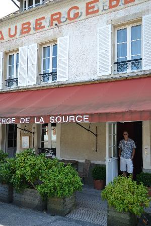 Auberge de la Source: Een hotel met een geschiedenis