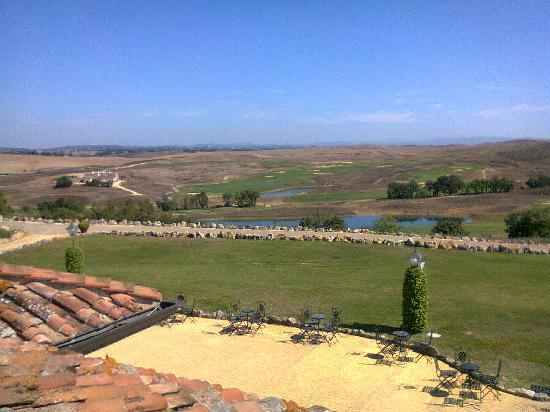 La Bagnaia Golf & Spa Resort Siena, Curio a Collection by Hilton : Una veduta dal terrazzo panoramico
