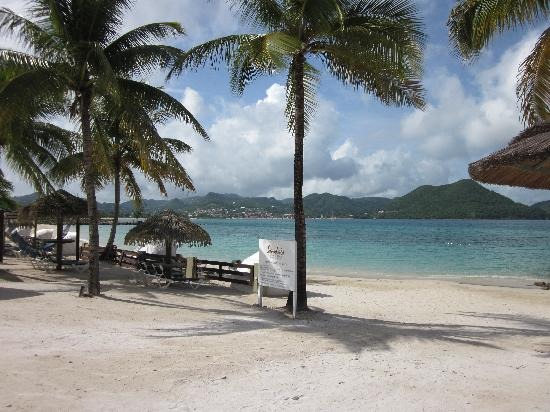 Sandals Grande St. Lucian Spa & Beach Resort: Beach