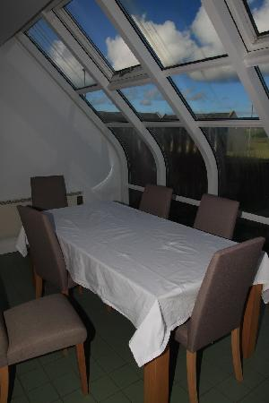 Unst, UK: Dining / conservatory