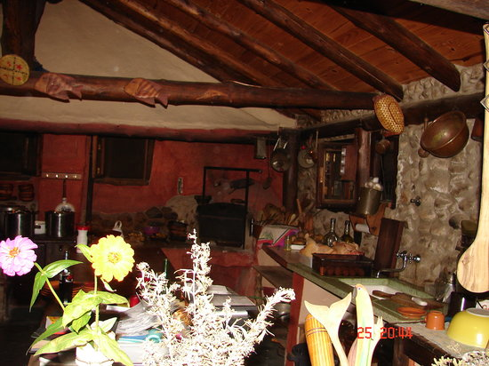 Los Reartes, Argentina: Cocina a la vista