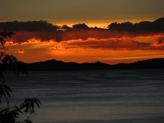 Isla Suasi : Sunset