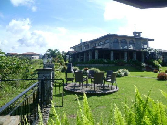 Hacienda Los Molinos Boutique Hotel: Vista del Hotel La Casa del Risco. El mejor para liberarse y ser plenamente feliz!
