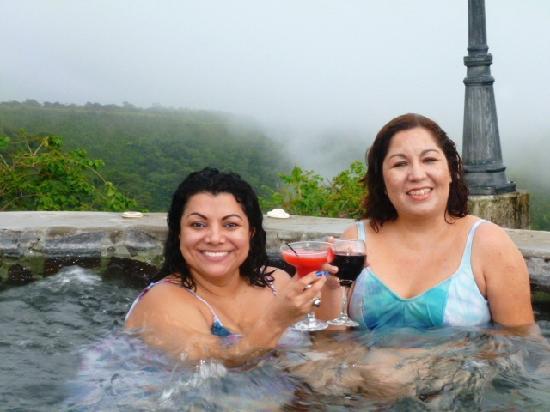Hacienda Los Molinos Boutique Hotel : mi amiga y yo fuimos felices!