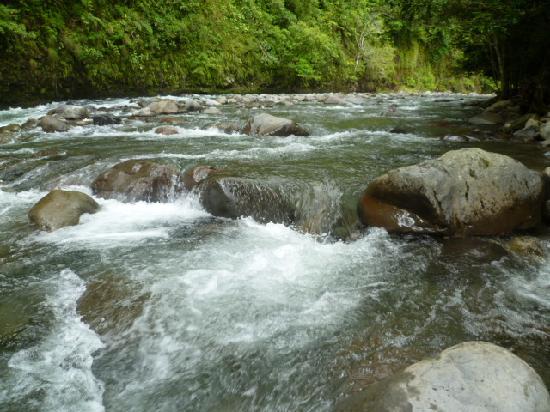 Hacienda Los Molinos Boutique Hotel : río Cochea