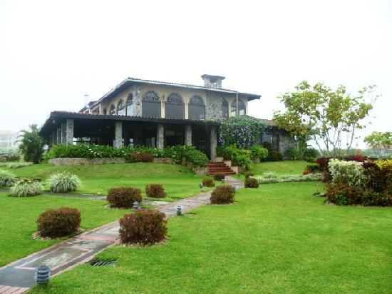 Hacienda Los Molinos Boutique Hotel: vistas posteriores del hotel