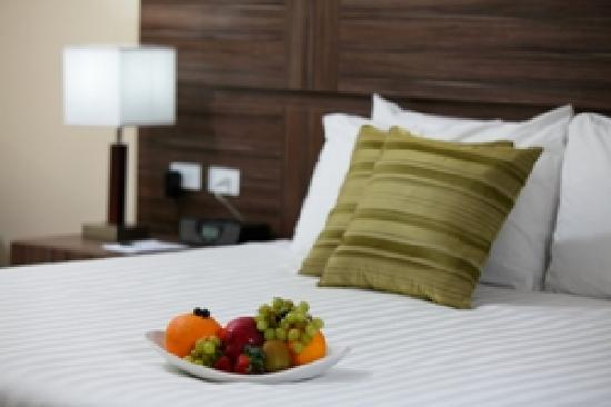 Clarion Victoria Hotel and Suites Panama: Amenities at Deluxe Room