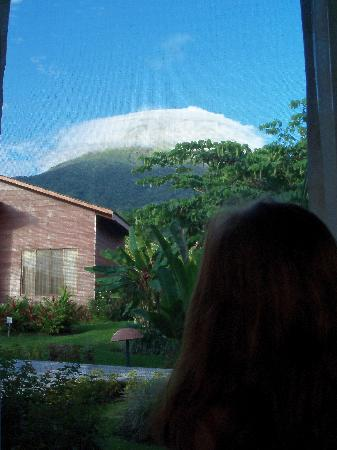 Hotel El Silencio del Campo: View of Arenal from the room