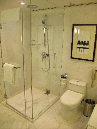โรงแรมฮ่องกง สกายซิตี้ แมริออท: Bathroom