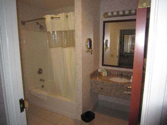 Medallion Hotel: bathroom