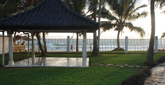 Cover Point Villa: Beach House Garden