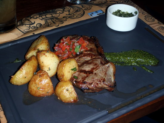 The Cuban Place: Steak - decent