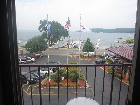 Harbor Shores on Lake Geneva: View from our balcony