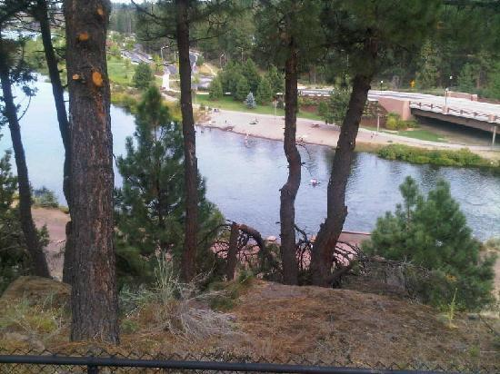 Pine Ridge Inn: View from Balcony