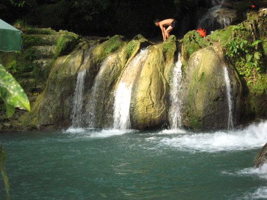 Samal Island, Philippinen: falls