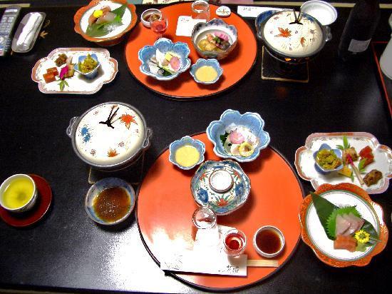 Tsujinoya Hananosho: お食事 懐石