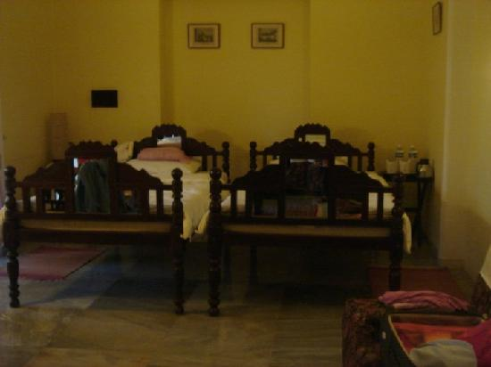 Hotel Jhira Bagh Palace: The room where we stayed
