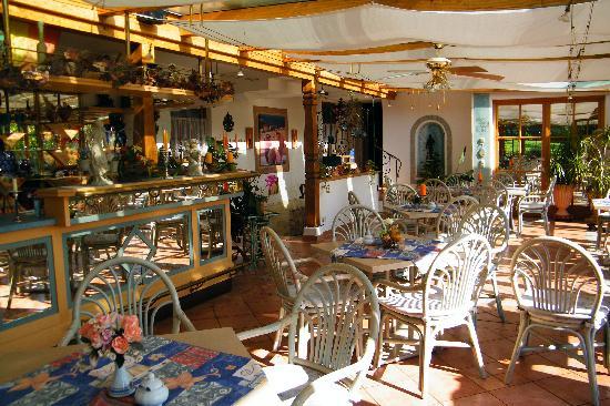 Landhotel Moosbeck-Alm: La veranda
