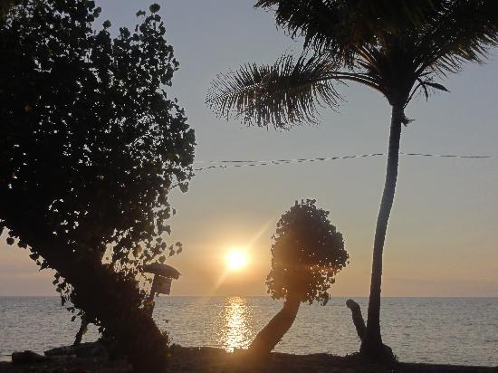 Kubu Lalang: coucher de soleil