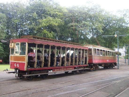 Manx Electric Railway: Electric Tram at Laxey