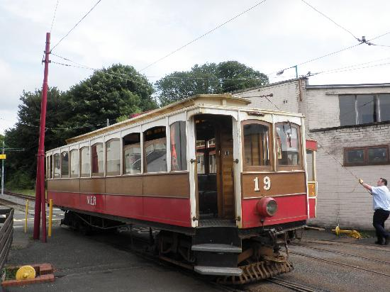 Manx Electric Railway: Electric Tram at Ramsey