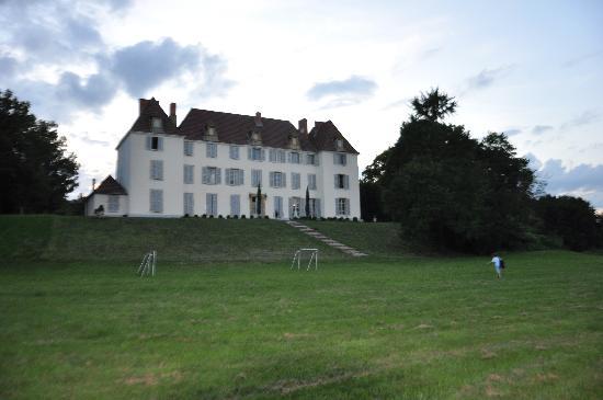 Chateau de Matel : il lato che si affaccia sul parco