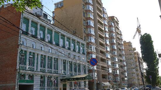 Hermitage Hotel: Ulyanovskaya street
