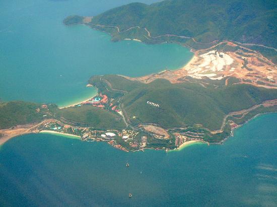 โรงแรมโนโวเทลญาจาง: Nha Trang dall'aereo