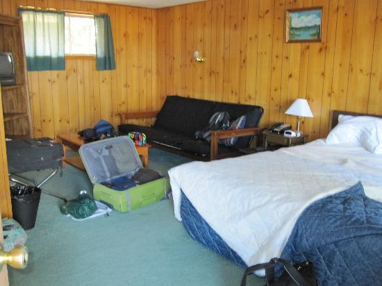 Whispering Pines Motel : our room