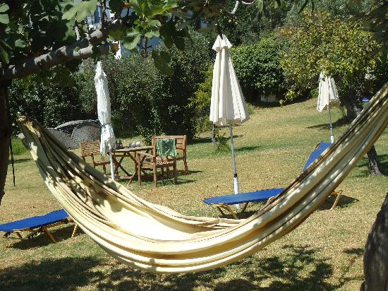 Angeliki Beach Hotel: il giardino
