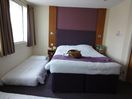 Premier Inn London Euston Hotel: Family room