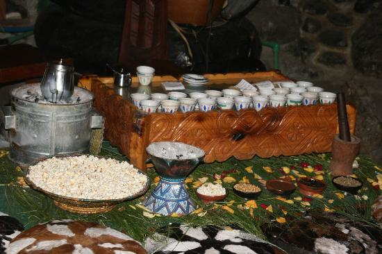 Ethiopian coffee table Picture of Yod Abyssinia Traditional Food