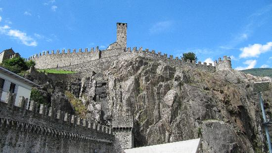 Bellinzona, Suiza: castel grande