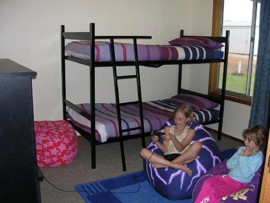 Halbury Haven B&B: kids room - 2 single bunk beds, Digital TV, PS2, Bean Bags