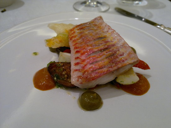 Murano: the perfect red mullet