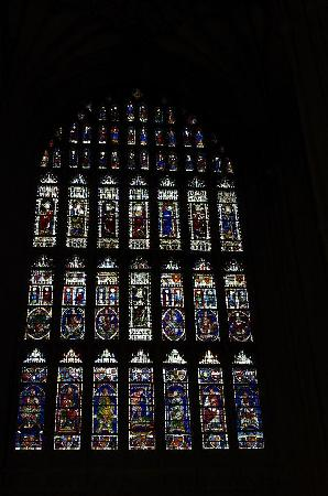 Canterbury Cathedral: Stained glass windows