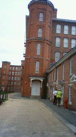 Boott Cotton Mills Museum : 博物館 いりぐち