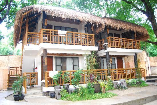 Acuaverde Beach Resort & Hotel: Casa Laiya rooms ..