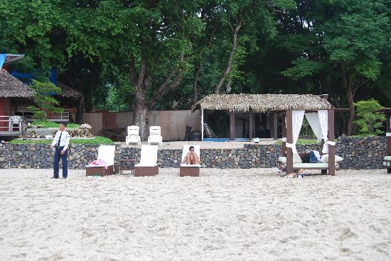 Acuaverde Beach Resort & Hotel: He makes sure everybody's safe!