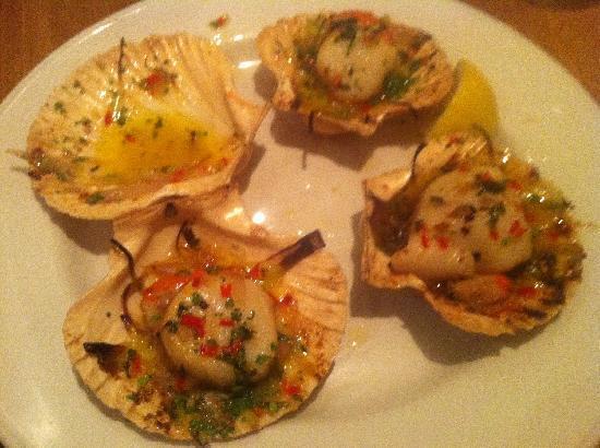 Loch Fyne Hotel Kenilworth: Delicious food