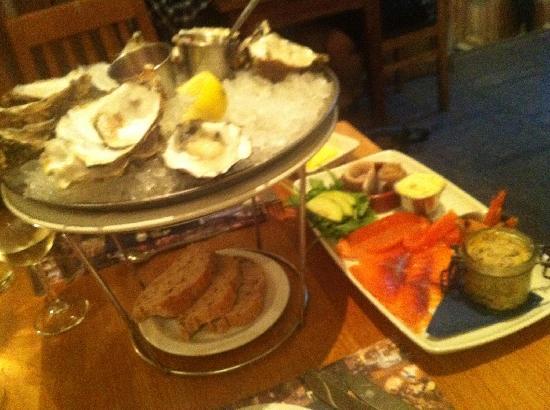 Loch Fyne Hotel Kenilworth: Oysters were devine