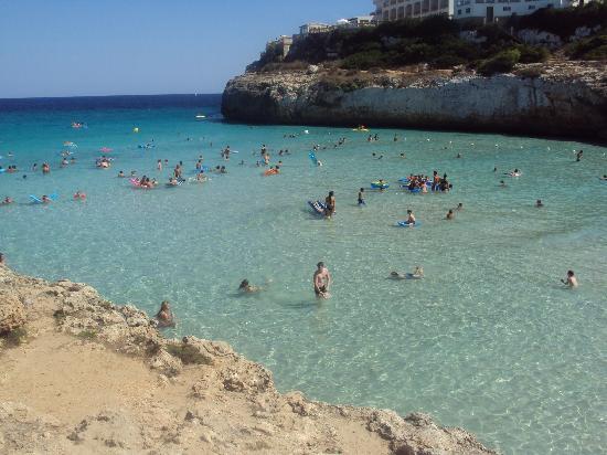 Club Hotel Tropicana Mallorca : panorama dalla spiaggia