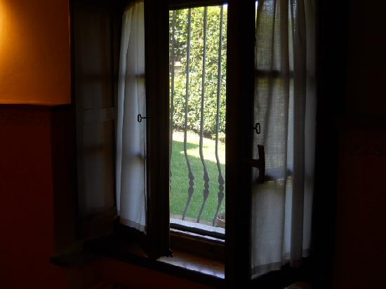 Il Colombaio di Santa Chiara: View from inside room