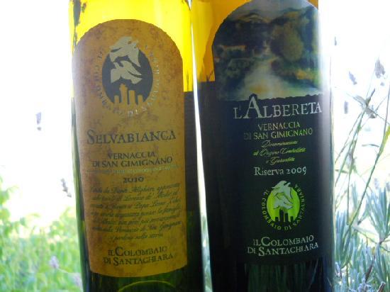Il Colombaio di Santa Chiara: Wines