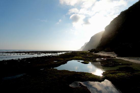 อลีลา วิลล่าส์ อูลูวาตู: the beach
