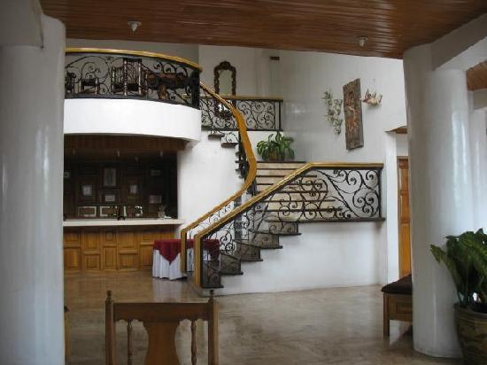 Hotel 39 s main building picture of la hacienda hotel - Stairs to second floor design ...
